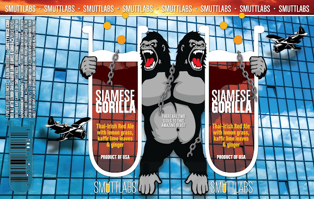 Smuttynose Lemon Charger IPA & Siamese Gorilla Coming To Smuttlabs Cans