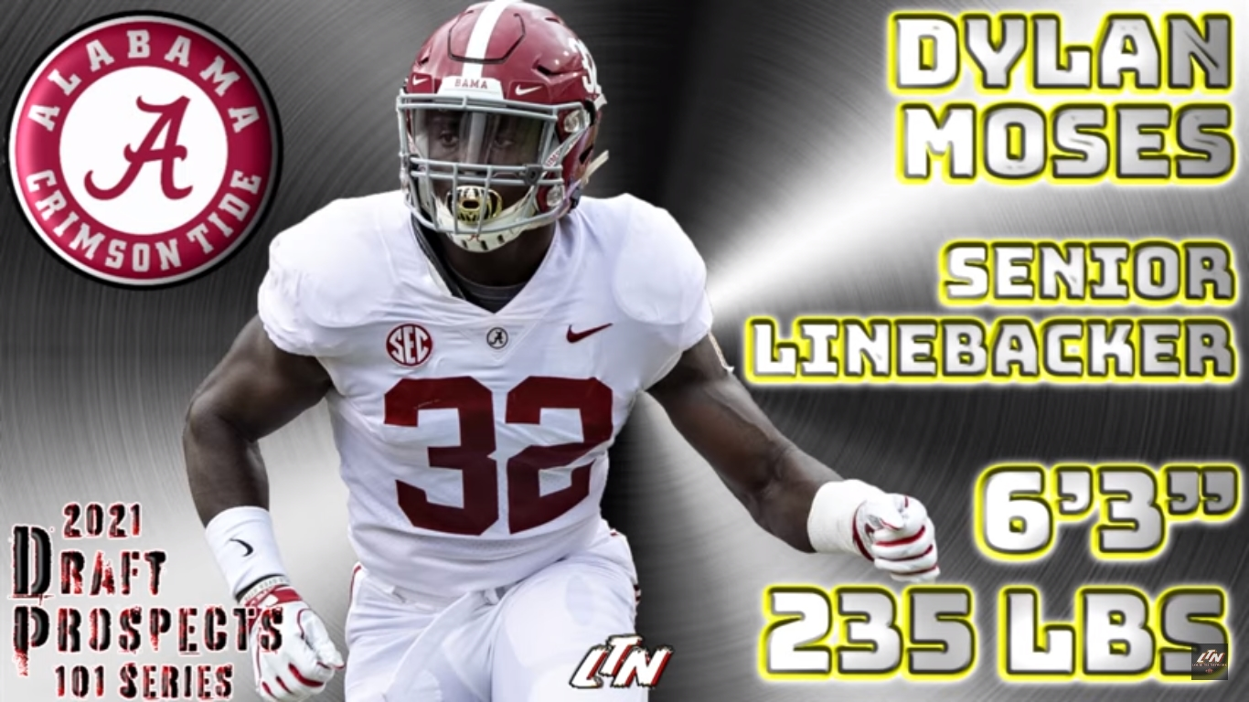 Player Profile DYLAN MOSES