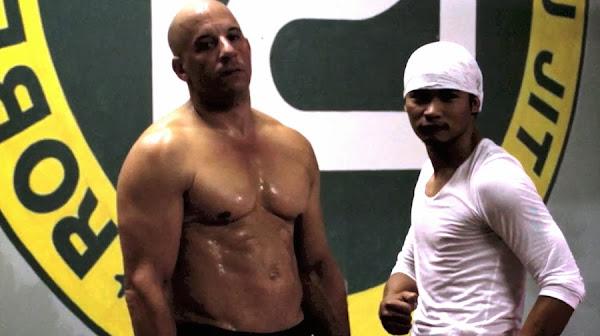 Vin Diesel şi Tony Jaa - antrenamente pentru Fast And Furious 7
