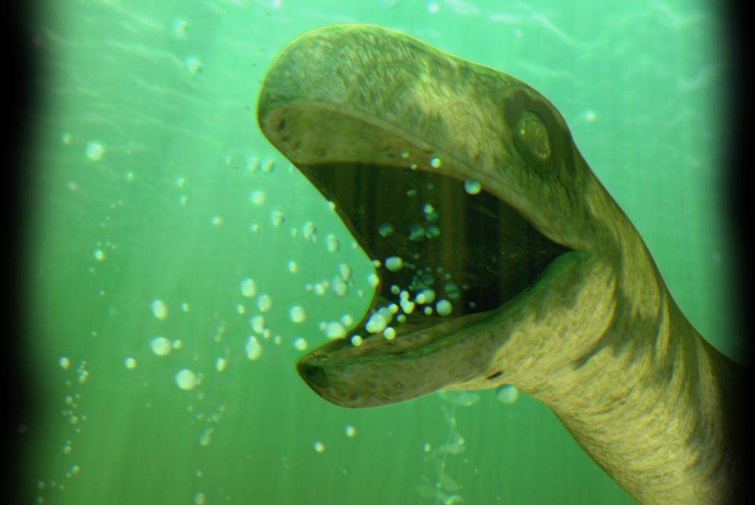 An Interactive Nessie | Pliosaurus - FX Animation