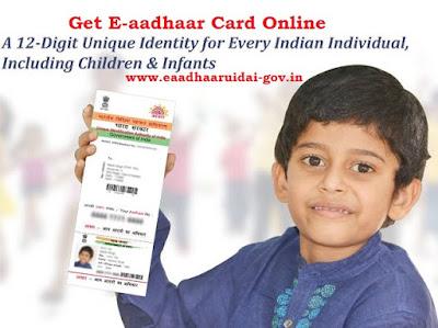 Get e-aadhar card