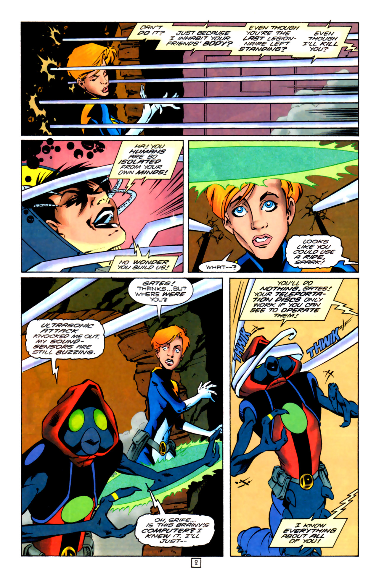 Legion of Super-Heroes (1989) 99 Page 2