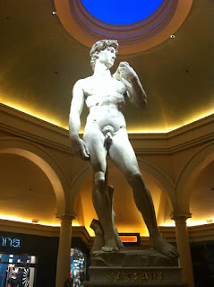 michelangelo statue of david in las vegas