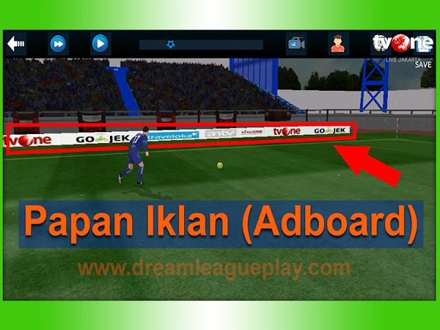 Cara Mengganti Papan Iklan (Adboard) Dream League Soccer 2017/2018