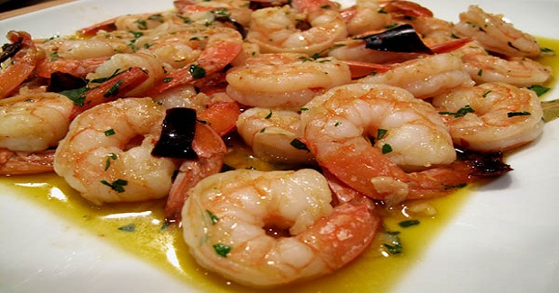 Spanish Tapas Style Shrimp Recipe