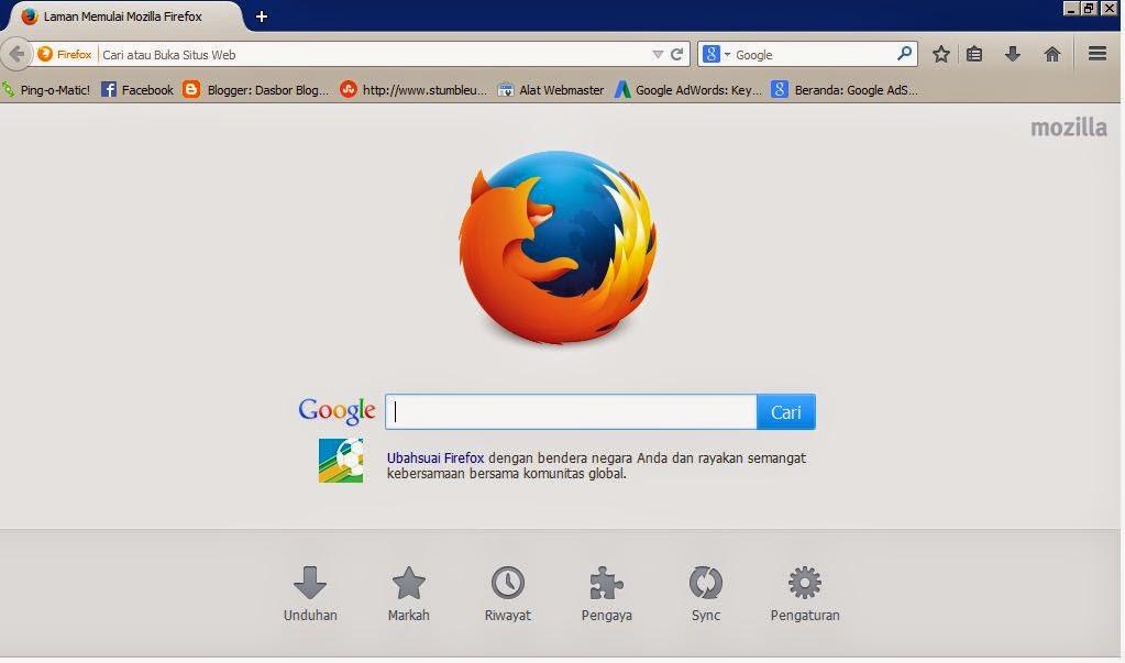 Macam macam browser internet di Dunia 3