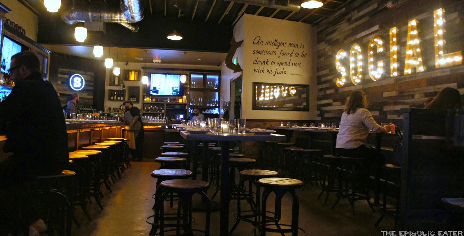 SOCIAL (Costa Mesa, CA) + New Dessert Program! on the Episodic Eater