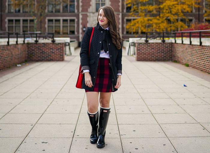 Krista Robertson, Covering the Bases,Travel Blog, NYC Blog, Preppy Blog, Style, Fashion Blog, Travel, What to wear-to-work, Work outfits, How to Dress for Work, Fall Outfits, Fall Style, What to Wear in the Fall, Plaid skirts, What to Wear for the Fall