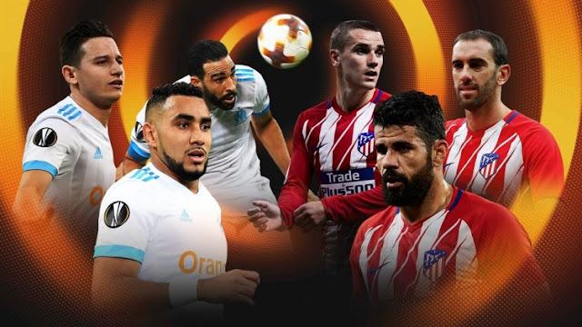 Prediksi Marseille vs Atletico Madrid Final Liga Eropa