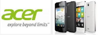 Acer Siap Jual 4 Juta Ponsel di 2014