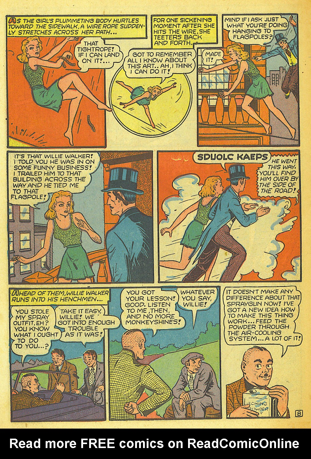 Read online Action Comics (1938) comic -  Issue #58 - 54