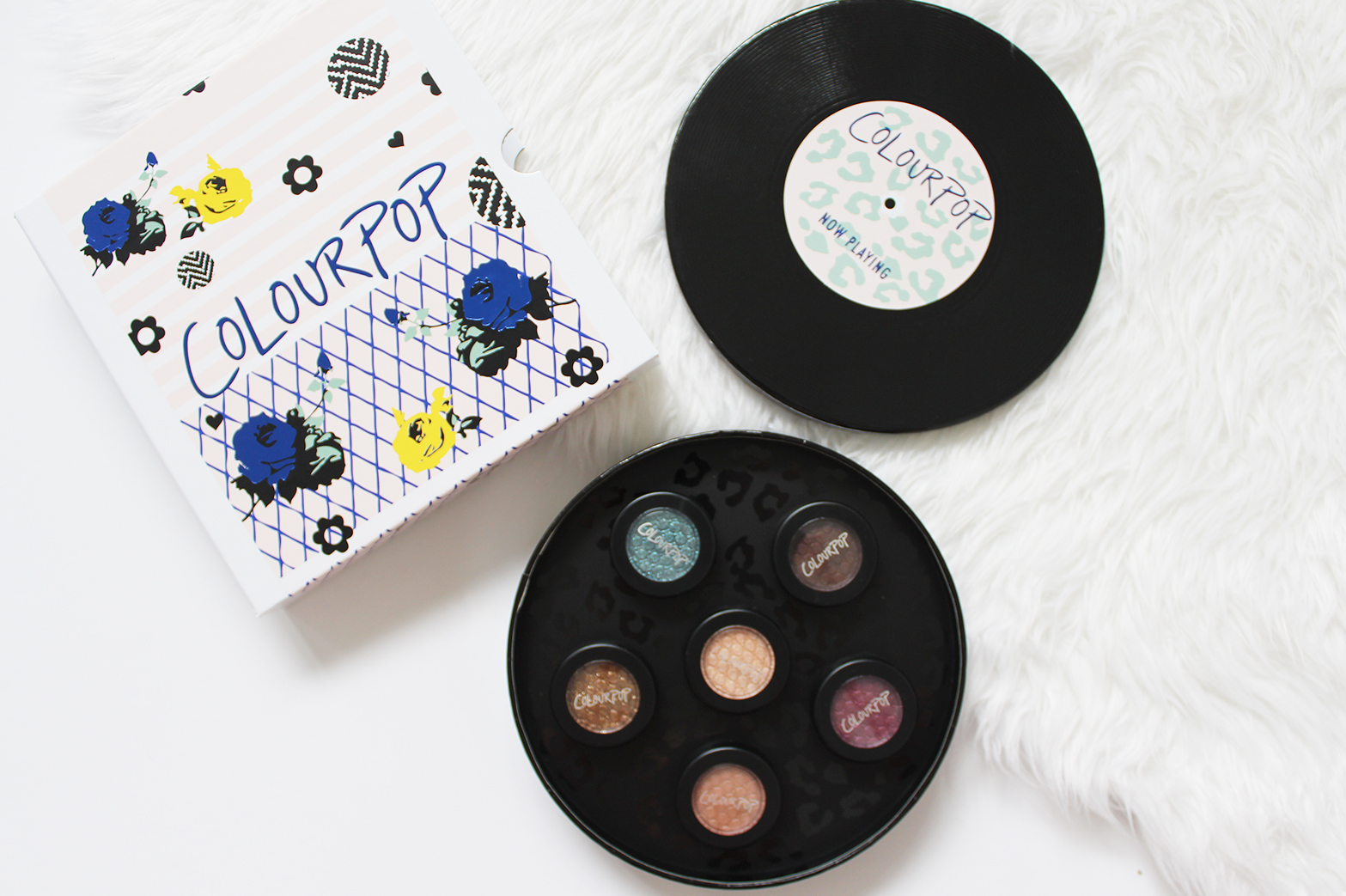 COLOURPOP COSMETICS | Hello Kitty, Christmas Collection, Mini Sets - Haul + Swatches - CassandraMyee