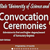 ESUT 17th Convocation Ceremony Programme Of Events