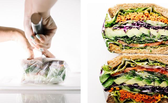 vegan sandviç