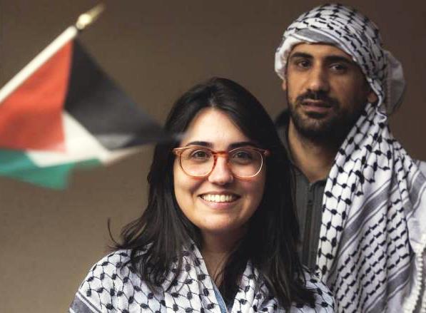 Manuela Jorge - refugiados palestinos