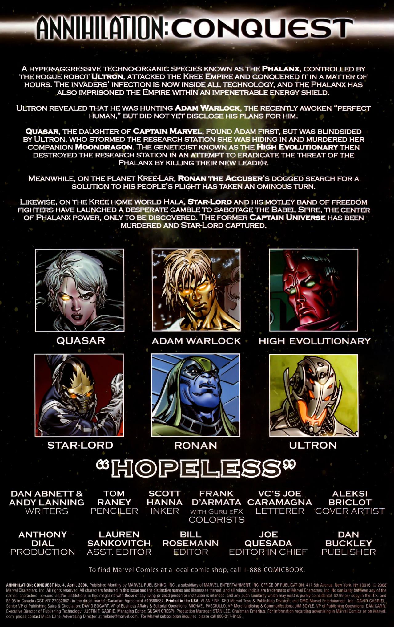 Annihilation: Conquest 4 Page 2