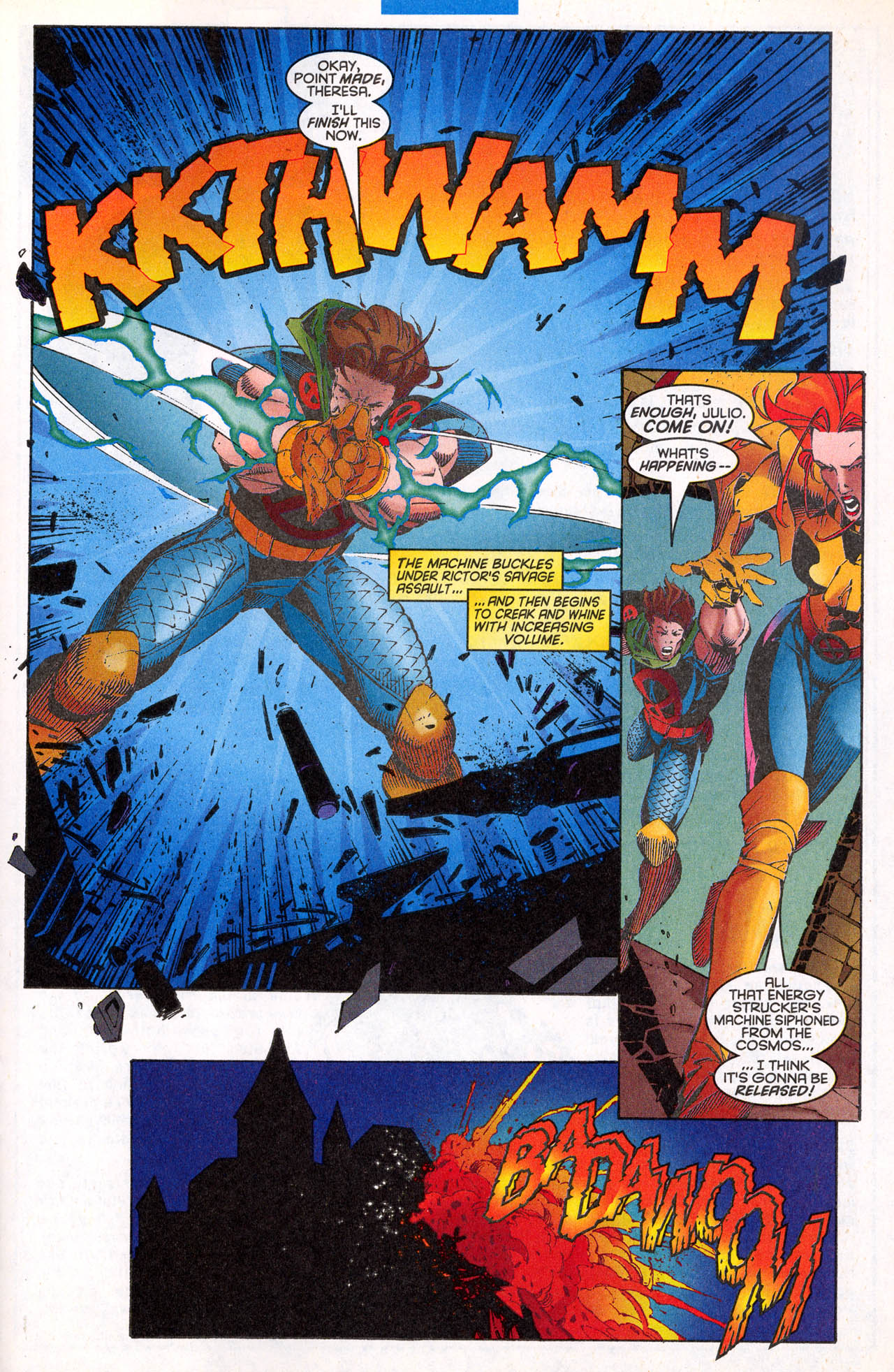 Read online X-Force (1991) comic -  Issue #64 - 29