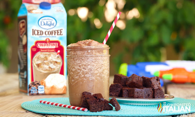 Brownies and Cream Frozen Shake