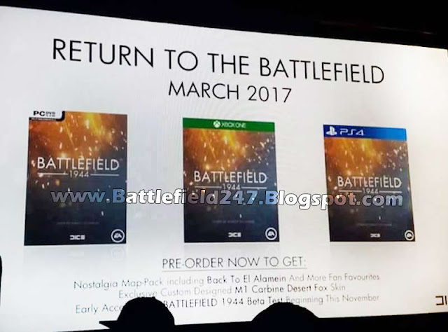 Battlefield 1944 World Premiere