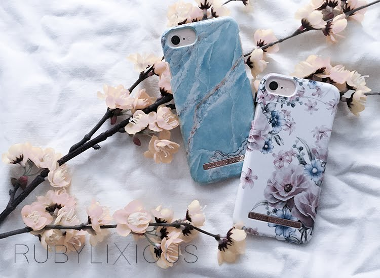 phone cases, ideal of sweden, floral romance, island paradise marble