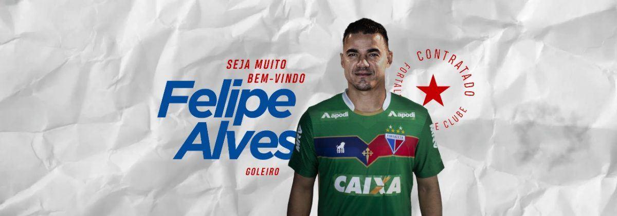 f9e1acb781 O Fortaleza acertou a contratação do atleta Felipe Alves