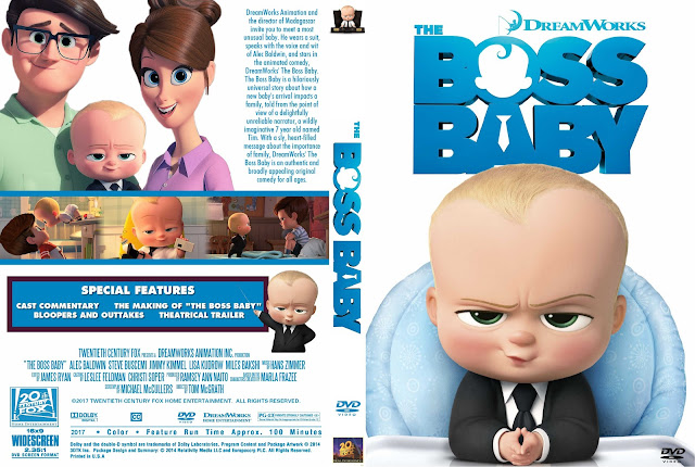 The Boss Baby DVD Cover