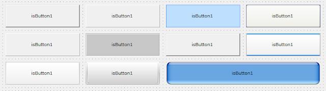 Memperindah tampilan Button pada Visual Basic 6 dengan isButton