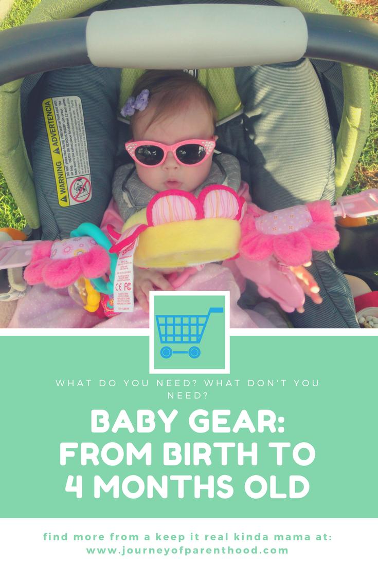 Baby Gear: Birth ~ 4 Months