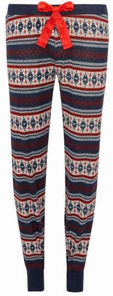 Pantalones de pijama para mujer con grecas alpinas