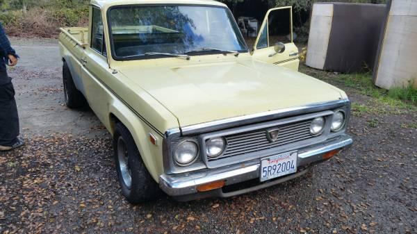 Daily Turismo: 5k: REPOldsmobile: 1974 Mazda Pickup Olds 455 V8