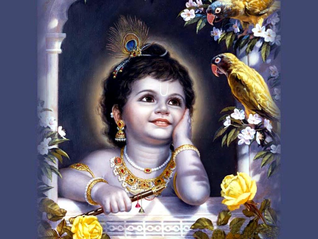 wallpaper of krishna bhagwan