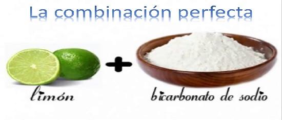 Beneficios de limón y bicarbonato de sodio