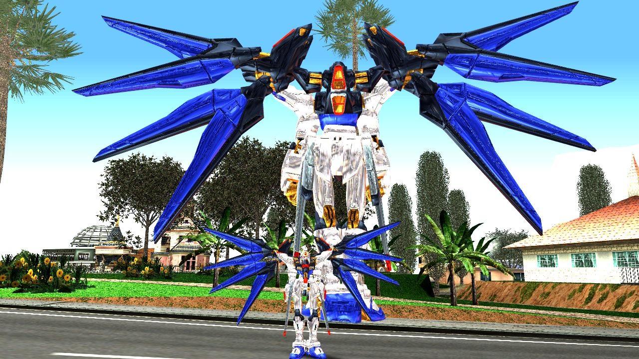 GTA San Andreas Gundam Mod - GTA SA modding,GTA V, GTA IV