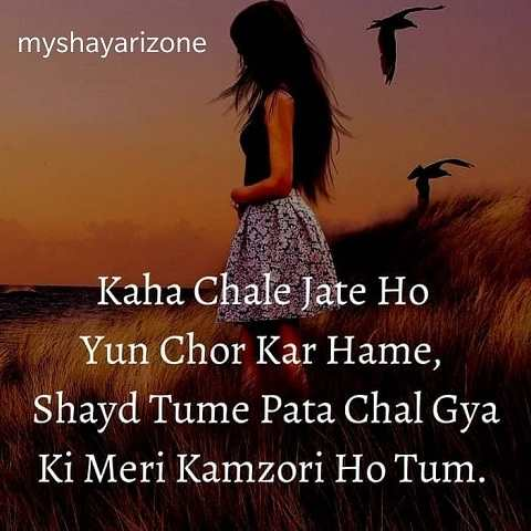Sad Lines in Love Hindi Emotional Shayari