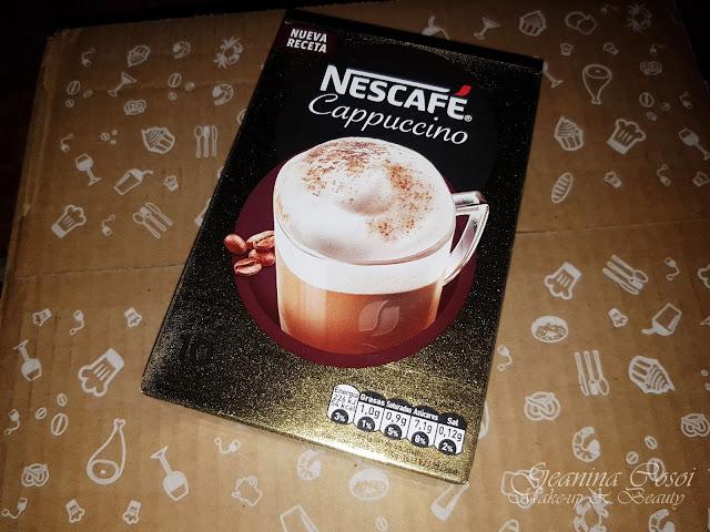 Nescafé Cappuccino Caja Degustabox - Octubre ´17