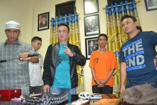 Polisi Bekuk Eks Aparat Yang Jadi Rampok Bersenjata Tajam Di Aceh