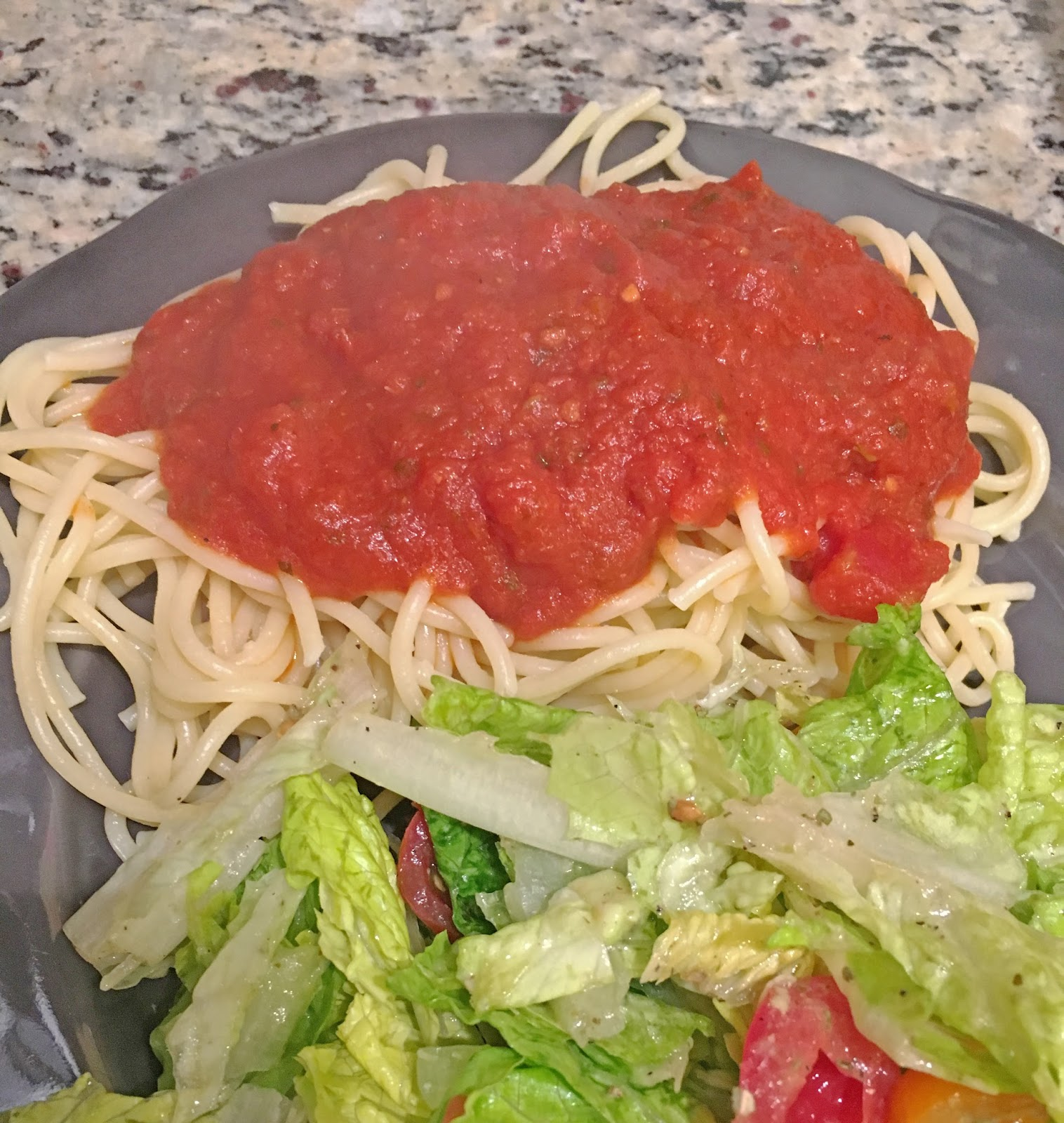salad and pasta in Fort Worth, Texas