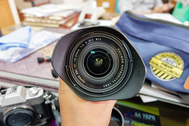 Review Lensa Fujinon XF 10-24mm F4