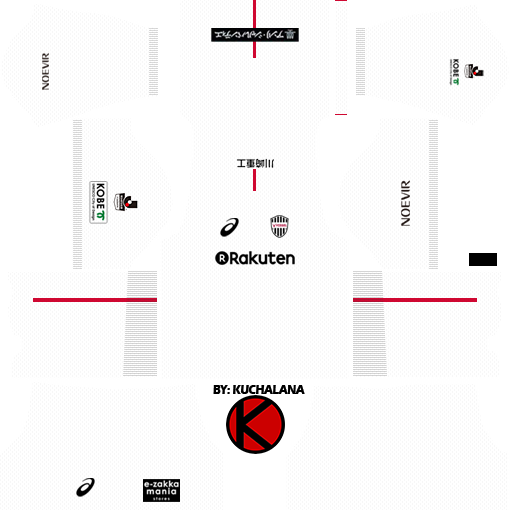 15b1d7c14094 Vissel Kobe ヴィッセル神戸 kits 2017 - Dream League Soccer - Kuchalana