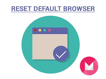 reset default browser