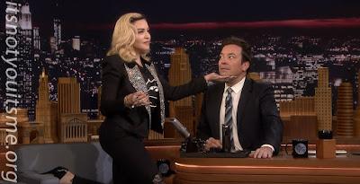 Madonna Gives Fallon MDNA