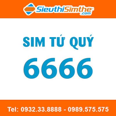 Sim tứ quý 6666