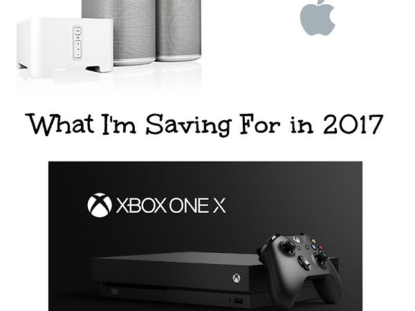 What I'm Saving For In 2017