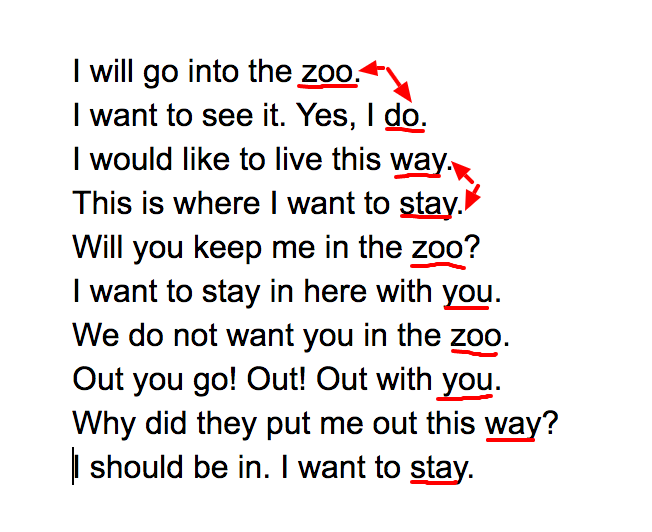 Activities for Put Me in the Zoo
