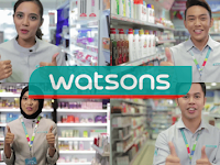 Jawatan Kosong di Watson's Store Malaysia - Pembantu Pelanggan / Gaji RM1,400.00++