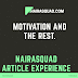 NAIRASQUAD ARTICLE EXPERIENCE : BE EDUCATED BY ONAH LYNDA