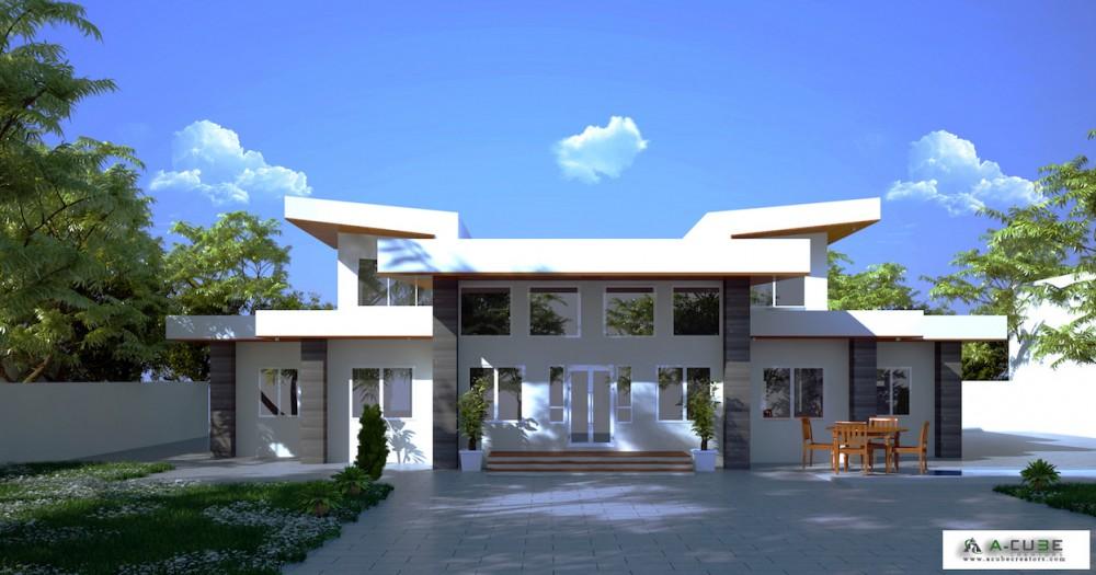 Beautiful contemporary single floor villa 2483 Sq Ft