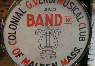 William F. McIntosh Bass Drum
