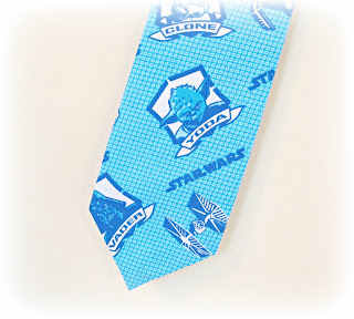 image star wars tie handmade fabric blue two cheeky monkeys blog