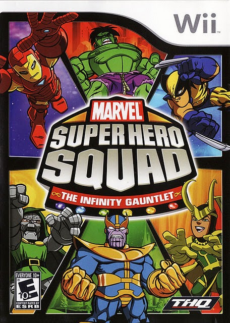 Marvel Super Hero Squad PSP free download full version